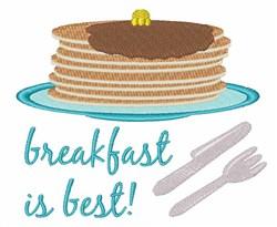 Breakfast is Best embroidery design