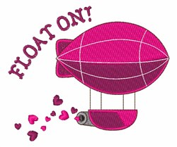 Float On! embroidery design