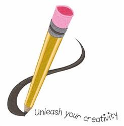 Unleash Your Creativity embroidery design