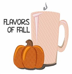 Flavors of Fall embroidery design