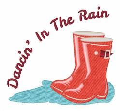 Dancin In The Rain embroidery design