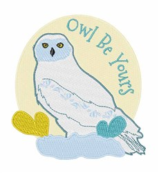 Owl Be Yours embroidery design