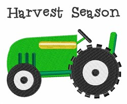 Harvest Season embroidery design