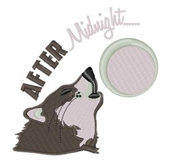 After Midnight embroidery design