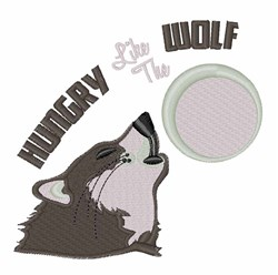 Hungry Like the Wolf embroidery design