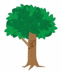 Love Tree embroidery design