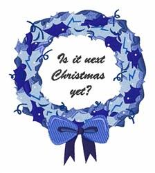 Next Christmas embroidery design