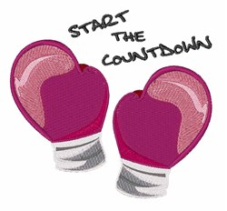 Start the Countdown embroidery design