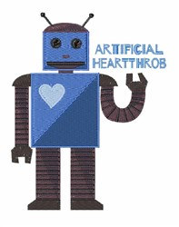 Artificial Heartthrob embroidery design