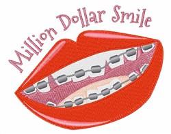 Million Dollar Smile embroidery design