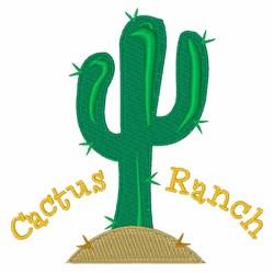 Cactus Ranch embroidery design