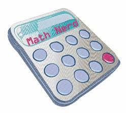 Math Nerd Calculator embroidery design