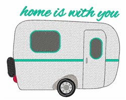 Home With You embroidery design