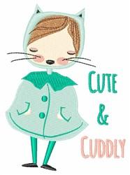 Cute & Cuddly embroidery design