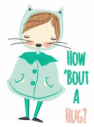 Bout Hug embroidery design