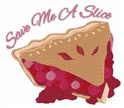 Save Slice embroidery design