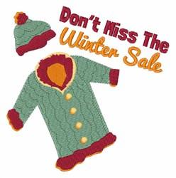 Winter Sale embroidery design
