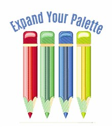 Expand Your Palette embroidery design