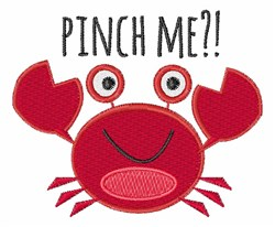 Pinch Me?! embroidery design