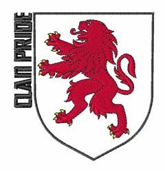 Clan Pride embroidery design