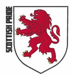 Scottish Pride embroidery design