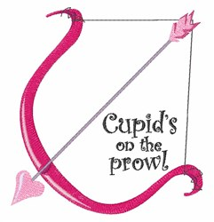Cupids Prowl embroidery design