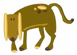 Dog Mutt embroidery design