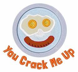Crack  Me Up embroidery design
