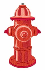 Fire Hydrant embroidery design