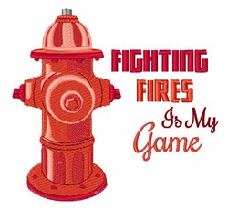 Fighting Fires embroidery design