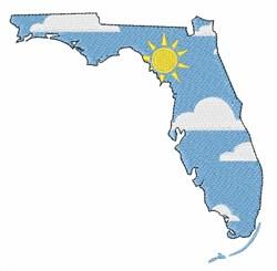Sunny Florida embroidery design