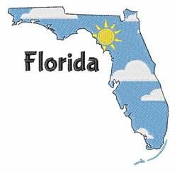 Florida Scene embroidery design