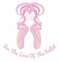 Love Ballet embroidery design