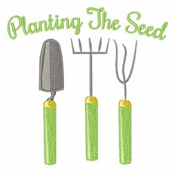 Planting the Seed embroidery design