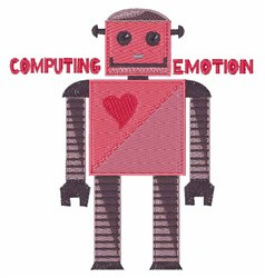 Computing Emotion embroidery design