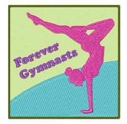 Forever Gymnasts embroidery design