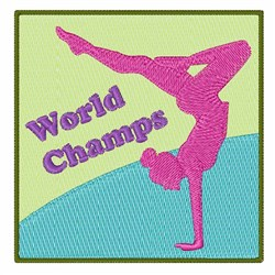 World Champs embroidery design