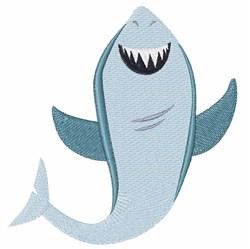 Shark Fish embroidery design