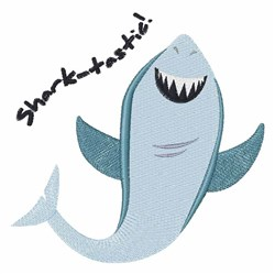Shark-tastic! embroidery design