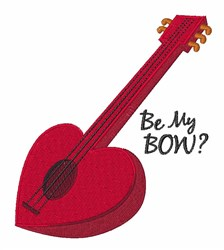 Be My Bow embroidery design