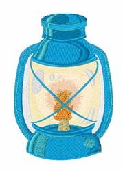 Camp Lantern embroidery design
