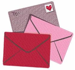 Valentine Stamp embroidery design