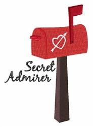Secret Admirer embroidery design