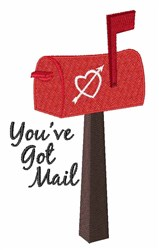 Youve Got Mail embroidery design