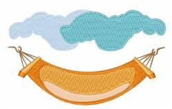 Hammock embroidery design