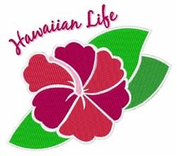 Hawaiian Life embroidery design