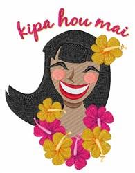 Kipa Hou Mai embroidery design