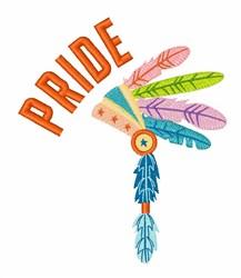 Pride embroidery design