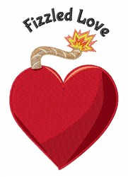 Fizzled Love embroidery design