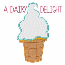 Dairy Delight embroidery design
